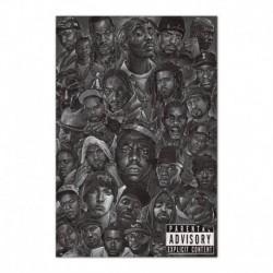 Poster Hip Hop All Stars