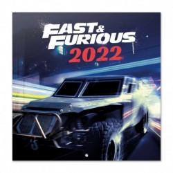 Calendario 2022 30X30 The Fast & The Furious