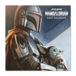 Calendario 2022 30X30 Star Wars The Mandalorian