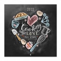 Calendario 2022 30X30 Lily & Val Cocktails