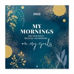 Calendario 2022 30X30 Glitter Gold Dreams
