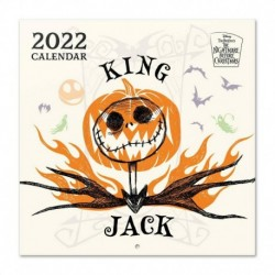 Calendario 2022 30X30 Disney Pesadilla Antes De Navidad