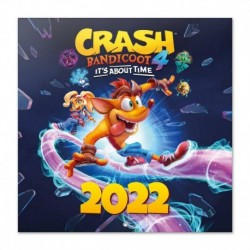 Calendario 2022 30X30 Crash Bandicoot