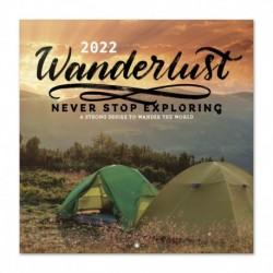 Calendario 2022 30X30 Wanderlust