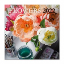 Calendario 2022 30X30 Flowers
