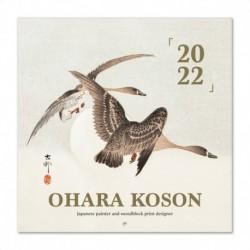 Calendario 2022 30X30 Ohara Koson