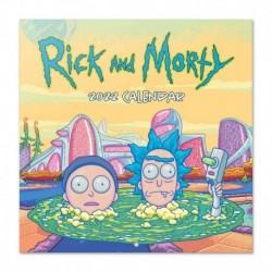 Calendario 2022 30X30 Rick Y Morty