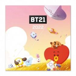 Calendario 2022 30X30 Bt21