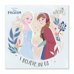 Calendario 2022 30X30 Disney Frozen