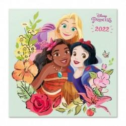 Calendario 2022 30X30 Disney Princess Classics
