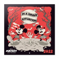 Calendario 2022 30X30 Disney Mickey