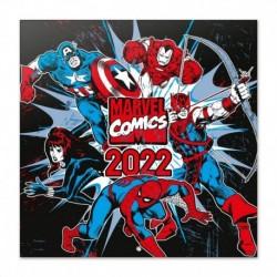 Calendario 2022 30X30 Marvel Comics