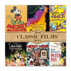 Calendario 2022 30X30 Disney Classic Films