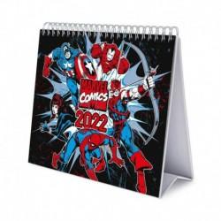 Calendario De Escritorio Deluxe 2022 Marvel Comics