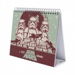 Calendario De Escritorio Deluxe 2022 Star Wars Classic