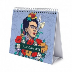Calendario De Escritorio Deluxe 2022 Frida Kahlo