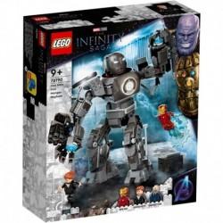 Lego Marvel Iron Man Caos De Iron Monger