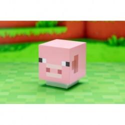 Lampara Con Sonido Minecraft Cerdito