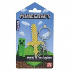 Llavero Abrebotellas Minecraft Espada