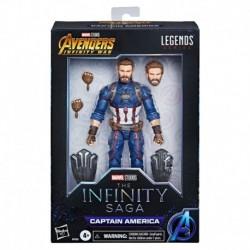 Figura Marvel Los Vengadores Infinity War Capitan America Serie Legends