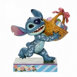 Figura Disney Lilo Y Stitch Stitch Con Canasta De Pascua