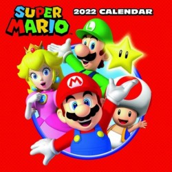 Calendario 2022 30X30 Nintendo Super Mario