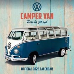 Calendario 2022 30X30 Vw Camper Vans