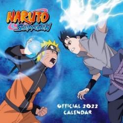 Calendario 2022 30X30 Naruto Shippuden
