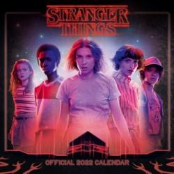 Calendario 2022 30X30 Stranger Things