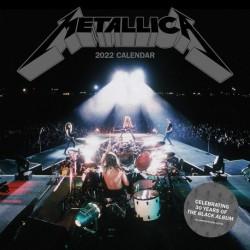 Calendario 2022 30X30 Metallica
