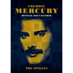 Calendario 2022 A3 Freddie Mercury