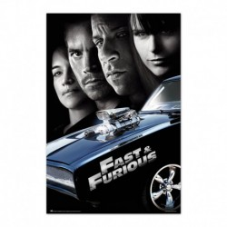Poster Fast & Furious 4