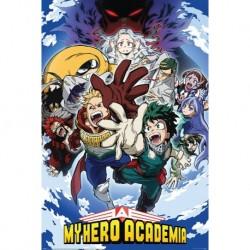 Poster My Hero Academia Temporada 4