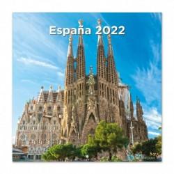 Calendario 2022 España 30X30