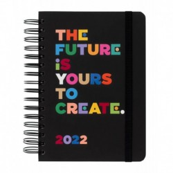 Agenda Anual Dia Pagina A5 2022 The Future Is Yours To Create By Wink&Wonder Kokonote