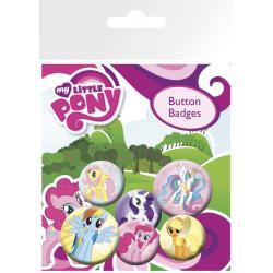 Pack de chapas My Little Pony Characters