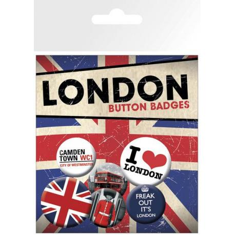 Pack de chapas London Freak Out