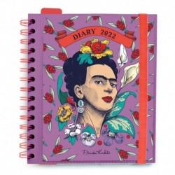 Agenda Anual Dia Pagina M 2022 Frida Kahlo