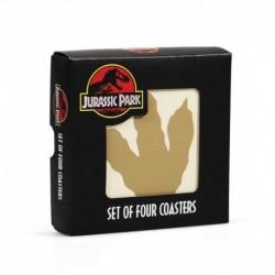 Set De Posavasos Jurassic Park Ceramica