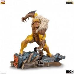 Figura Dientes De Sable X-Men Marvel Escala 1/10