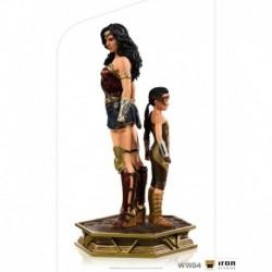 Figura Wonder Woman & Joven Diana DC Comics Escala 1/10