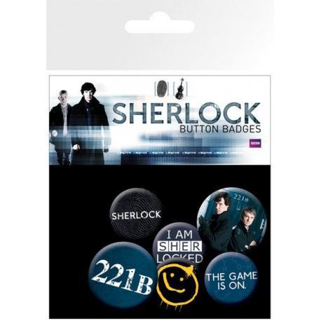 Pack de chapas Sherlock Mix