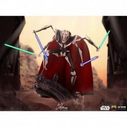 Figura General Grievous Star Wars Clone Wars Escala 1/10