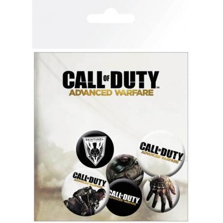 Pack de chapas Call of Duty Advanced Warfare Mix