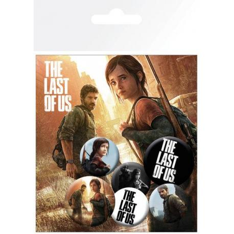 Pack de chapas The Last of Us Ellie And Joel