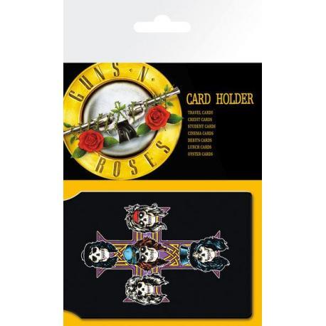 Tarjetero Guns N Roses Logo
