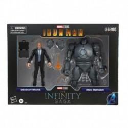 Figura Obadiah Stane & Iron Monger Iron Man Marvel The Infinity Saga