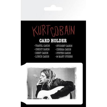 Tarjetero Kurt Cobain Smoking