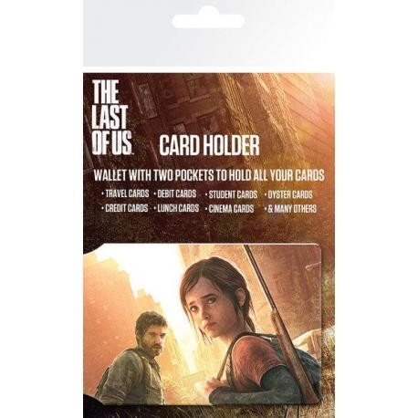 Tarjetero The Last of Us Ellie and Joel