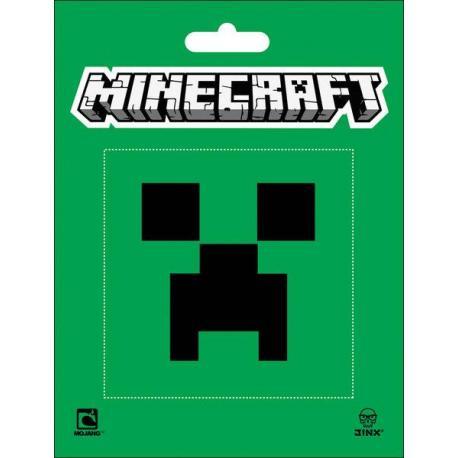 Pegatina de vinilo Minecraft Creeper